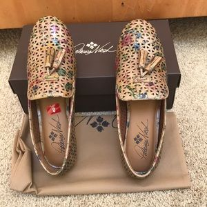 NIB! Patricia Nash size 8M  perforated loafers